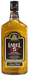 Label 5 Scotch Classic Black 750ml